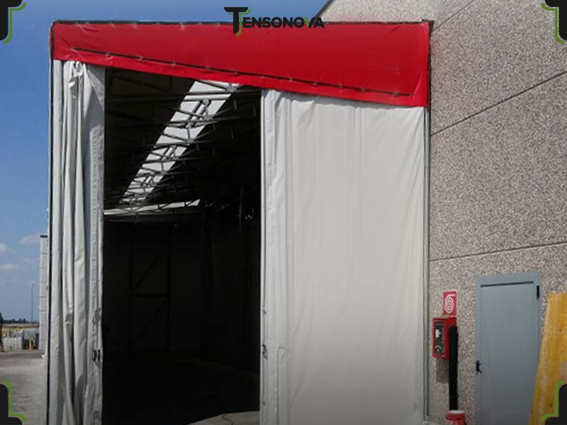 capannone mobile monofalda