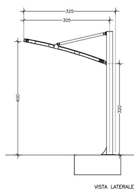 disegno tecnico coperture per camper