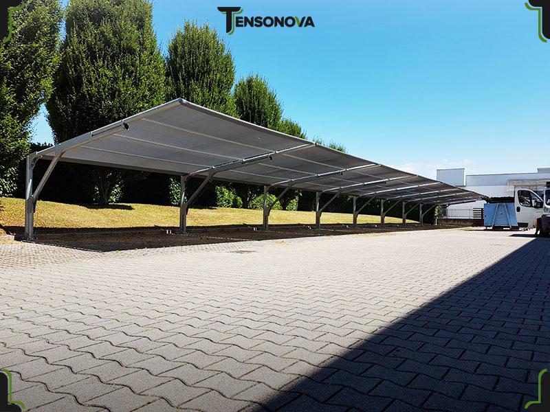 tettoie ombreggianti per auto