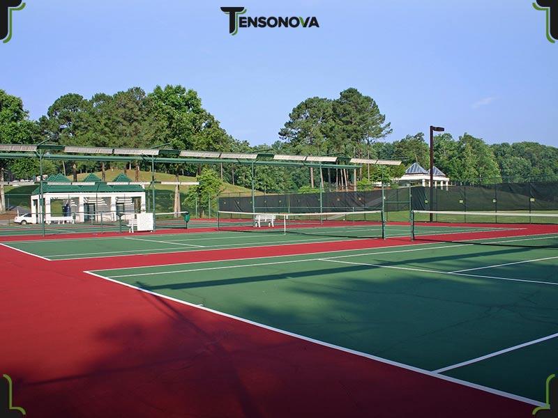 coperture per campi da tennis