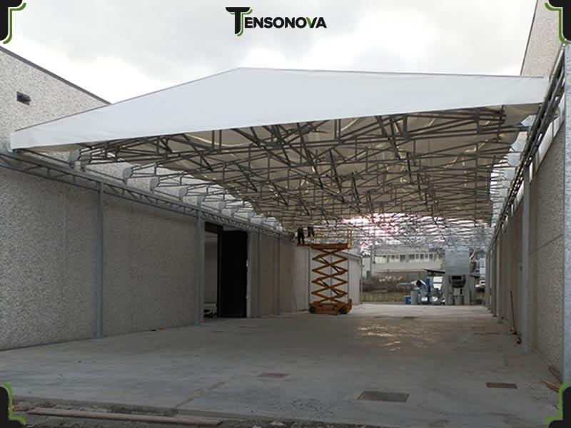 tunnel industriale collegamento