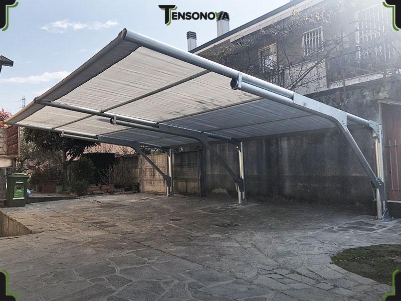 tettoie per auto parasole