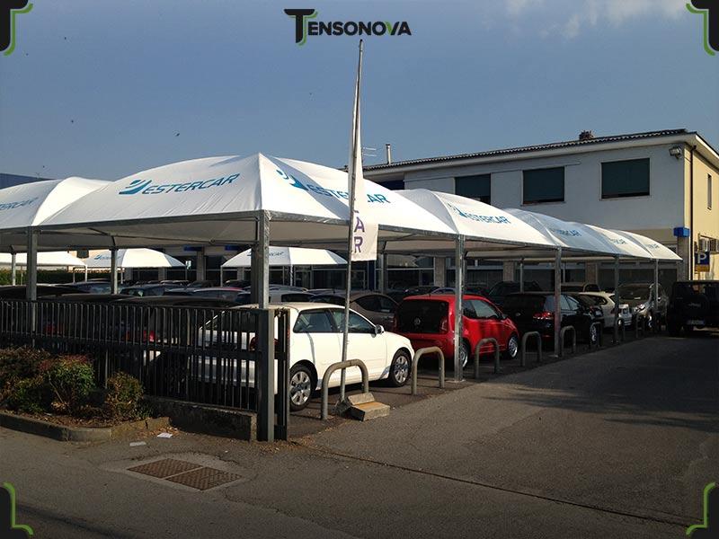 gazebo per concessionarie auto