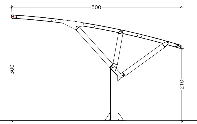 Disegno tecinco copertura auto MX19ST