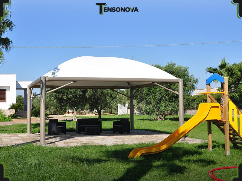 gazebo in pvc gz40