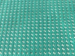 telo mesh verde per copertura antigrandine