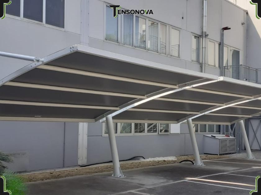 tettoie parcheggi aziendali