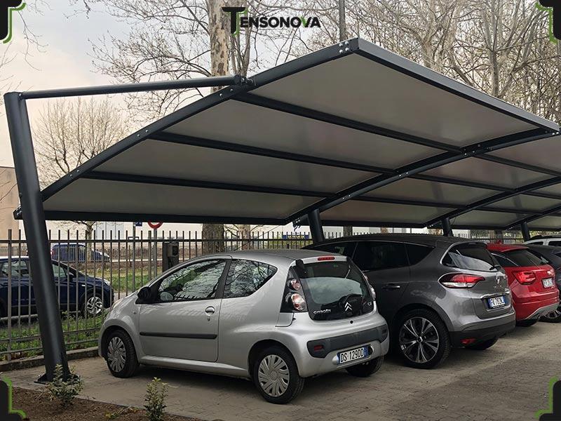 copertura per auto modulare