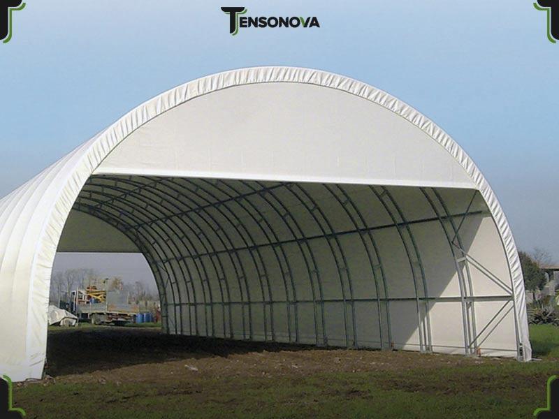 tunnel agricoli come stalla